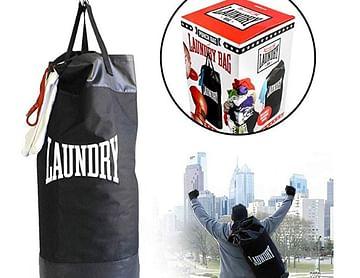 Wäschesack als Boxsack