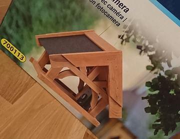 Vogelhaus mit Kamera für meinen Vater :D