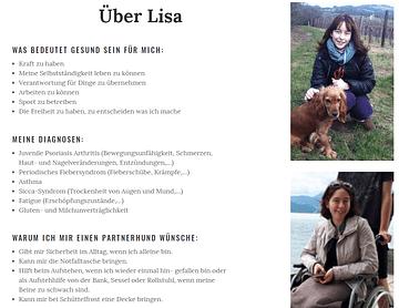 Ein Partnerhund für Lisa