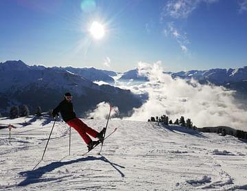 Martin im Schnee