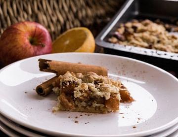 Bratapfel-Streusel-Kuchen