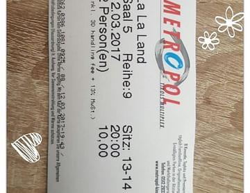 1+1 gratis auf Kinotickets im Megaplex und Metropol Multiplex