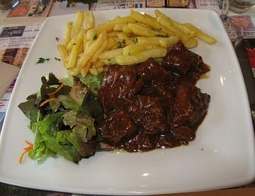 Stofvlees für Belgien