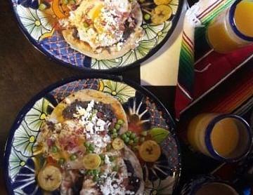 1+1 gratis auf mexikanisches Frühstück