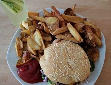 Bis 7€ Ersparnis auf das Bio Burger Menü bei Bionista