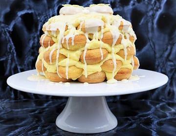 Vanille Donut Torte