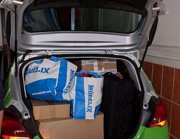 Zipcar und Möbelix :-)