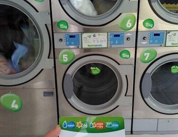kostenlos waschen und trocknen mit GreenClean Gutschein