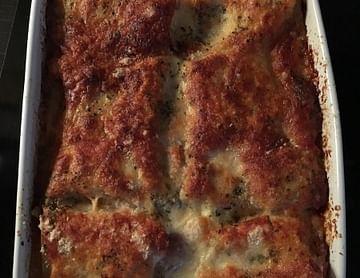 Erste selbstgemachte Lasagne für Italien!