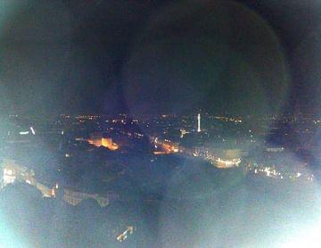 Flixbus (Bin nach Graz gedüst, im Bild sieht man den Blick vom Schloßberg bei Nacht)