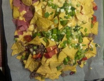 Party Nachos for Mexico