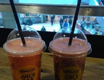 Gutschein für 1+1 gratis Juices in den Rauch Juice Bars
