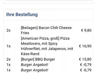 4€ Lieferservice Gutschein