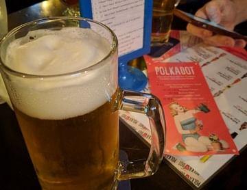 Gutschein von Polkadot Wien 1+1 gratis Bier vom Fass
