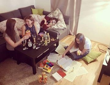 #study#sleep#party#repeat