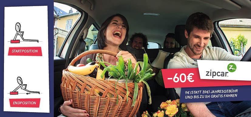 -60€ auf Carsharing
