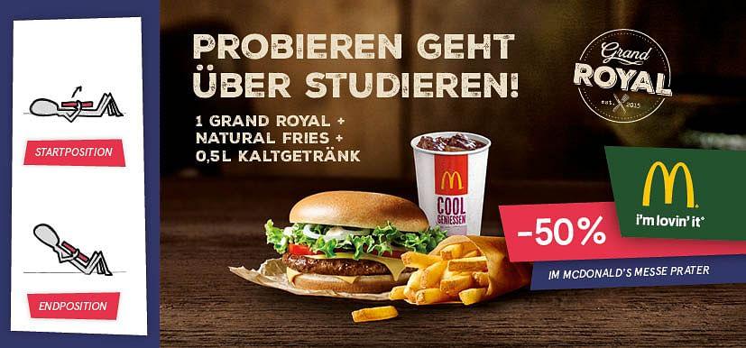 -50% im McDonald
