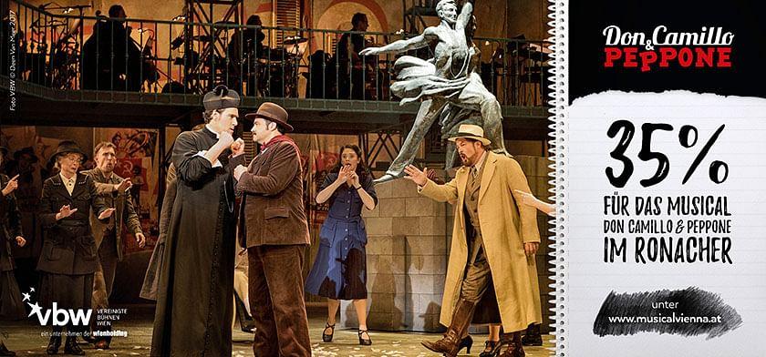 -35% auf Musical Don Camillo & Peppone