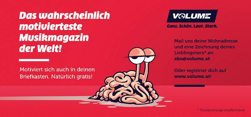VOLUME - Das wahrscheinlich motivierteste Musikmagazin der Welt!