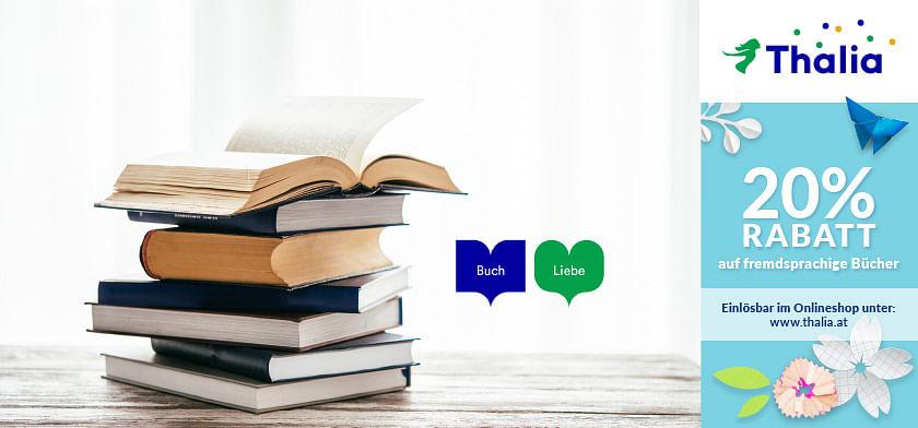 20% RABATT auf fremdsprachige Bücher