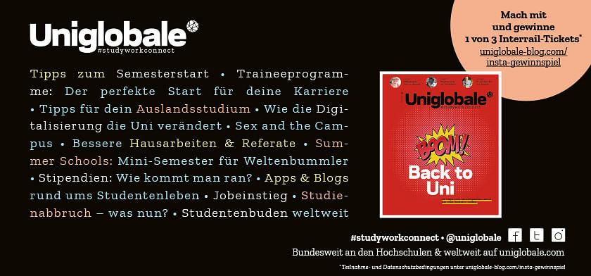 Uniglobale: Bundesweit an den Hochschulen