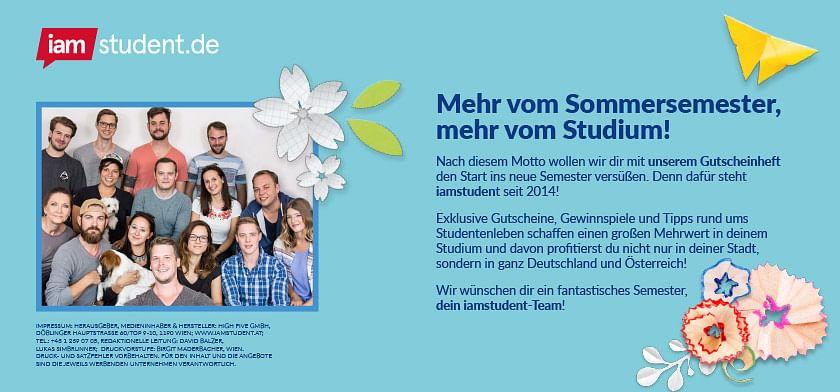 iamstudent.de: die besten Gutscheine und Gewinnspiele