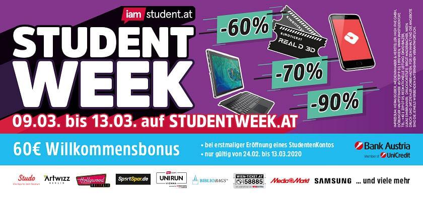 iamstduent.at Student Week SoSe 2020