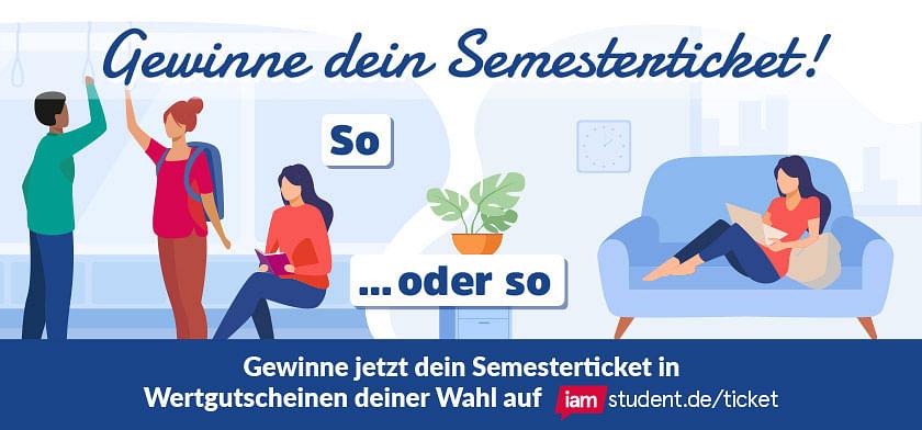 Gewinne dein Semesterticket!
