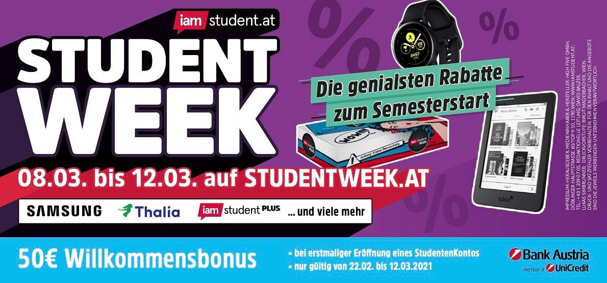 Student Week SoSe21