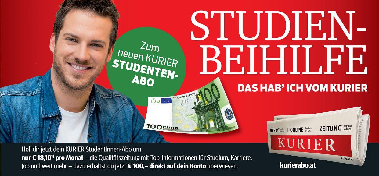 100€ Studienbeihilfe