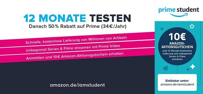 10€ Amazon-Aktionsgutschein