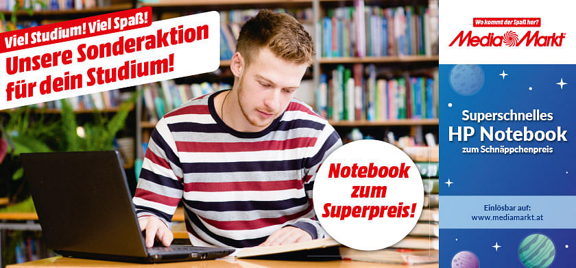 Superschnelles HP Notebook zum Schnäppchenpreis