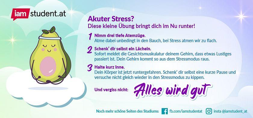 Übung zur Stressbewältigung