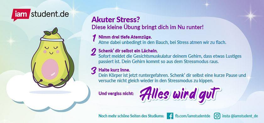 Stressbewältigungsübung