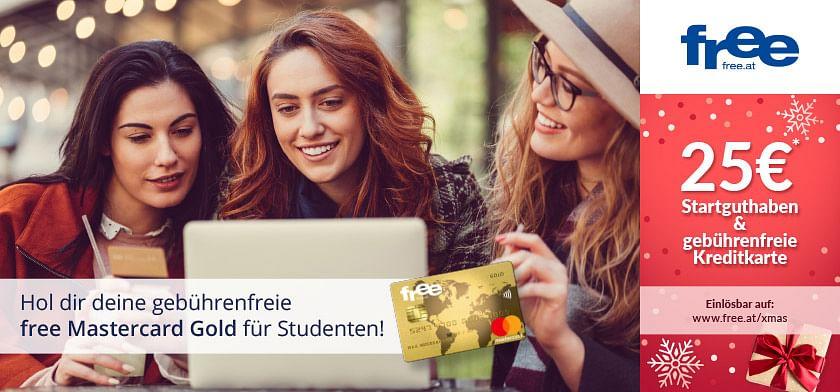 25€ Startguthaben & gebührenfreie Kreditkarte