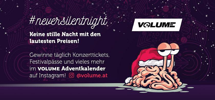 VOLUME #neversilentnight Keine stille Nacht mit den lautesten Preisen!