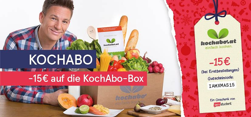 -15€ auf die KochAbo-Box