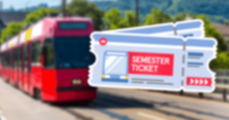 2x1 Semesterticket für das SoSe 2021