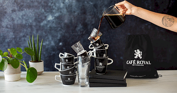 1x ultimatives Coffee-Lover-Set von Café Royal