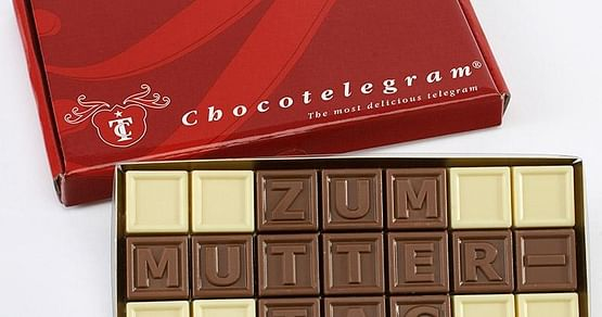 5x Muttertags Chocotelegram