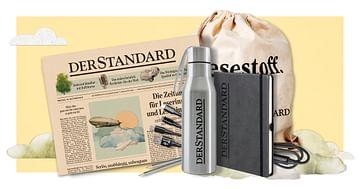 Gewinne ein STANDARD-Abo inkl. Goodie-Bag