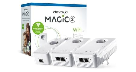 1x1 DEVOLO Magic 2 WiFi Multiroom Kit 2-1-3 von DiTech