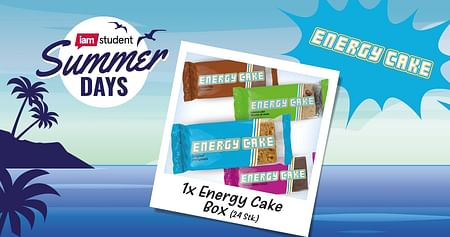 1x Energy Cake Box à 24 Stück