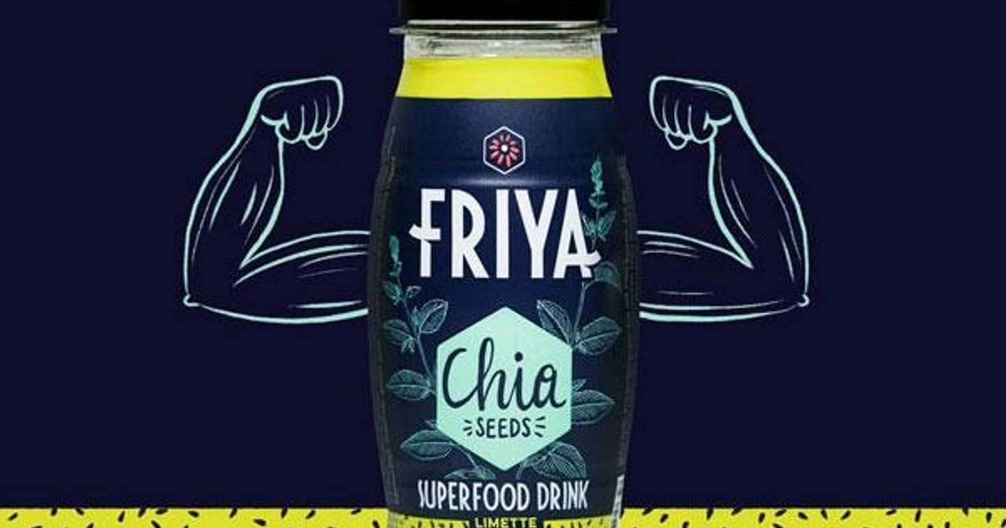 3x2 Trays Friya Superfood Drinks