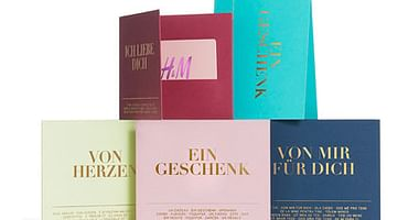 4x H&M Gutschein im Wert von je 25€