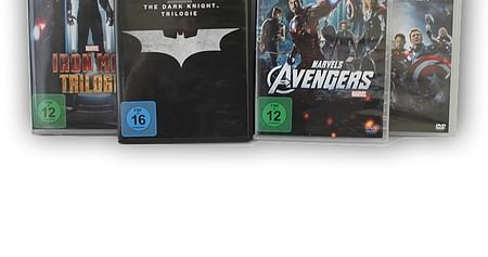 Batman, Ironman und Avengers Collection