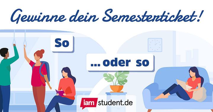 Wir zahlen dein Semesterticket!