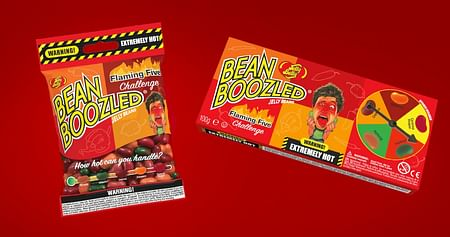 1x Flaming Five Paket inkl. Jelly Belly Beans