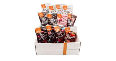 3x1 Schokoladen-Snack-Box zu gewinnen
