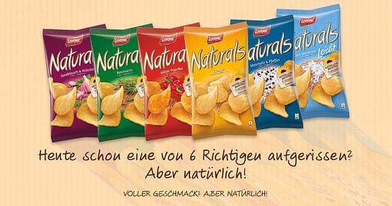 10x1 Naturals Snackpaket von Lorenz Snack-World gewinnen